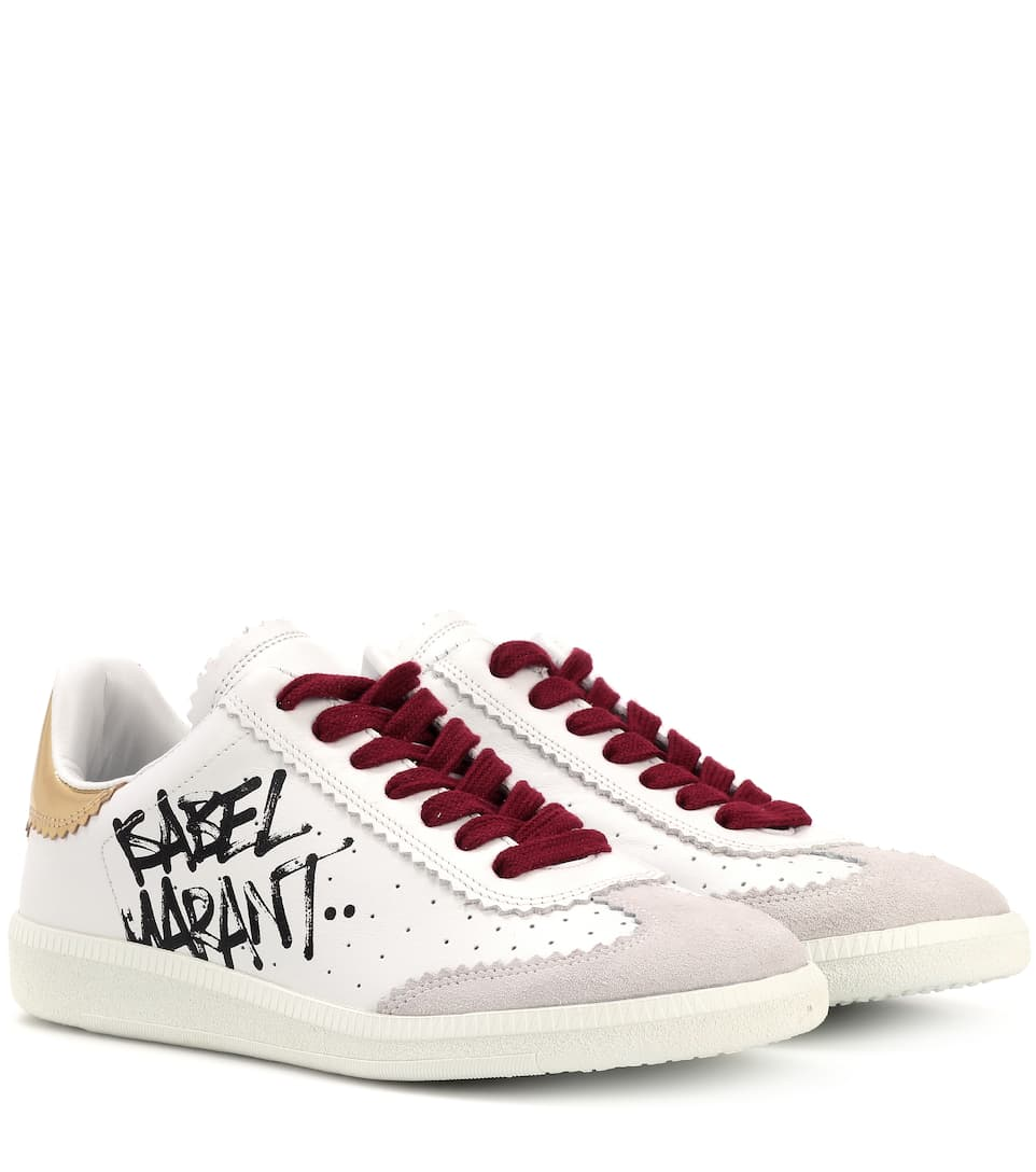 New Products Isabel Marant Isabel Marant Bryce Printed sneaker s white DH98833