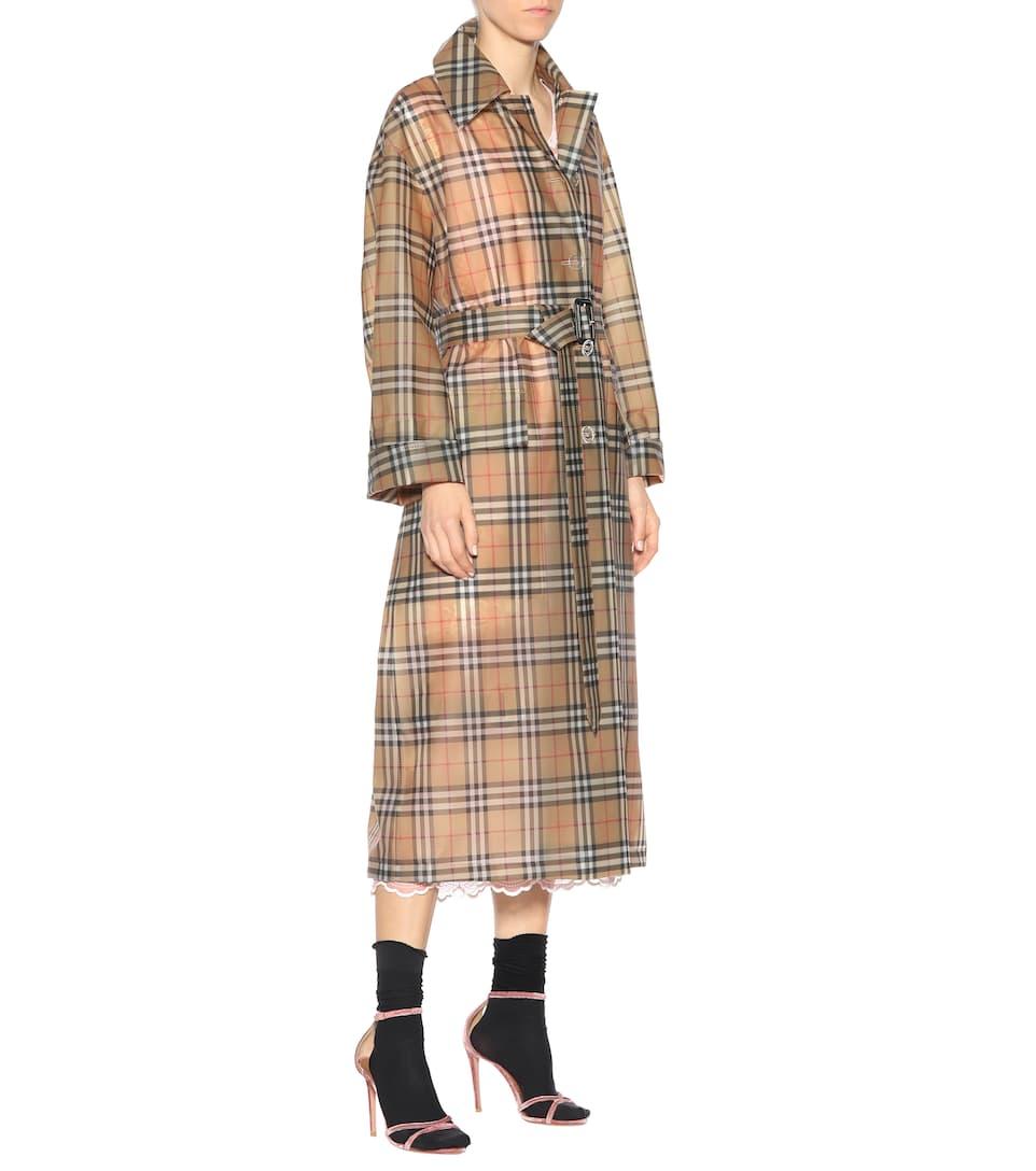 Burberry Karierter Mantel