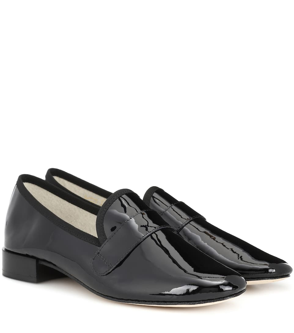 Mocassins Repetto Michael En Cuir Verni