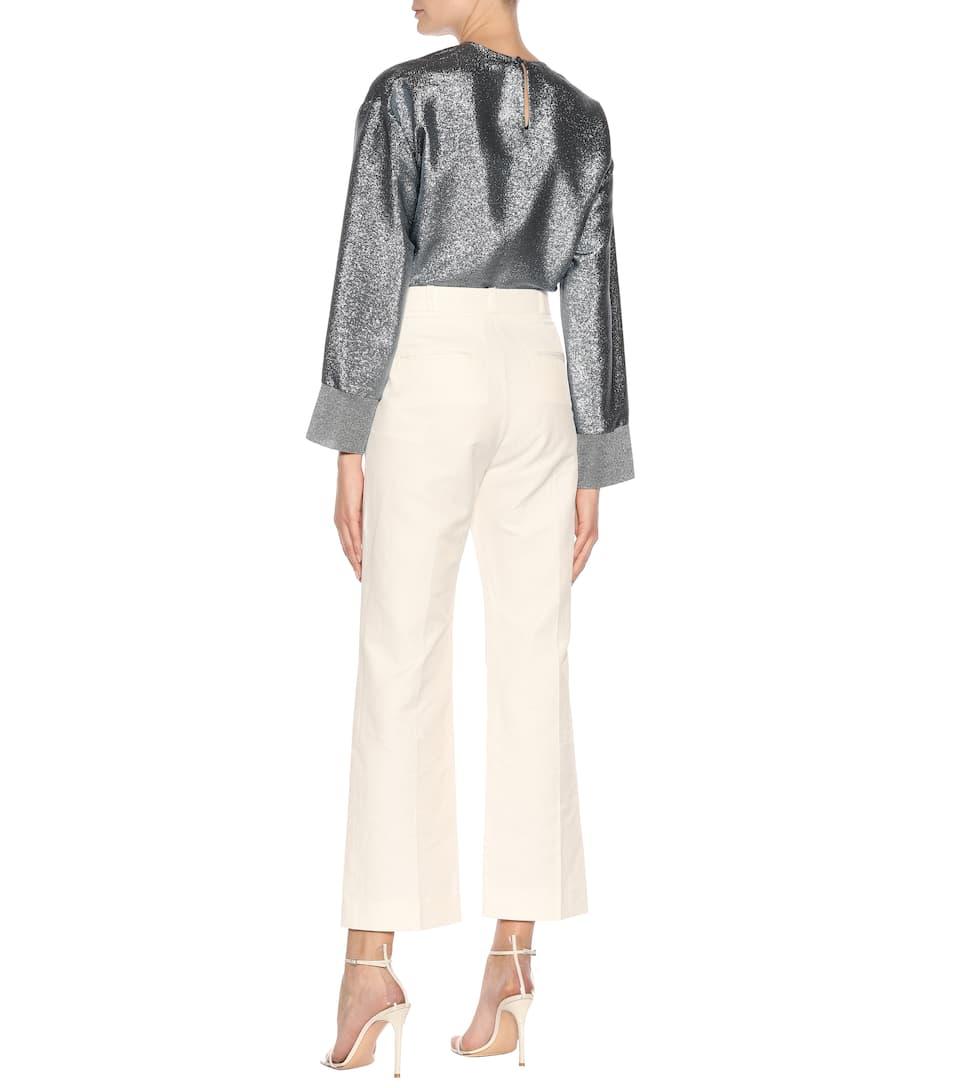 Pantalon Raccourci Stella Mccartney En Coton