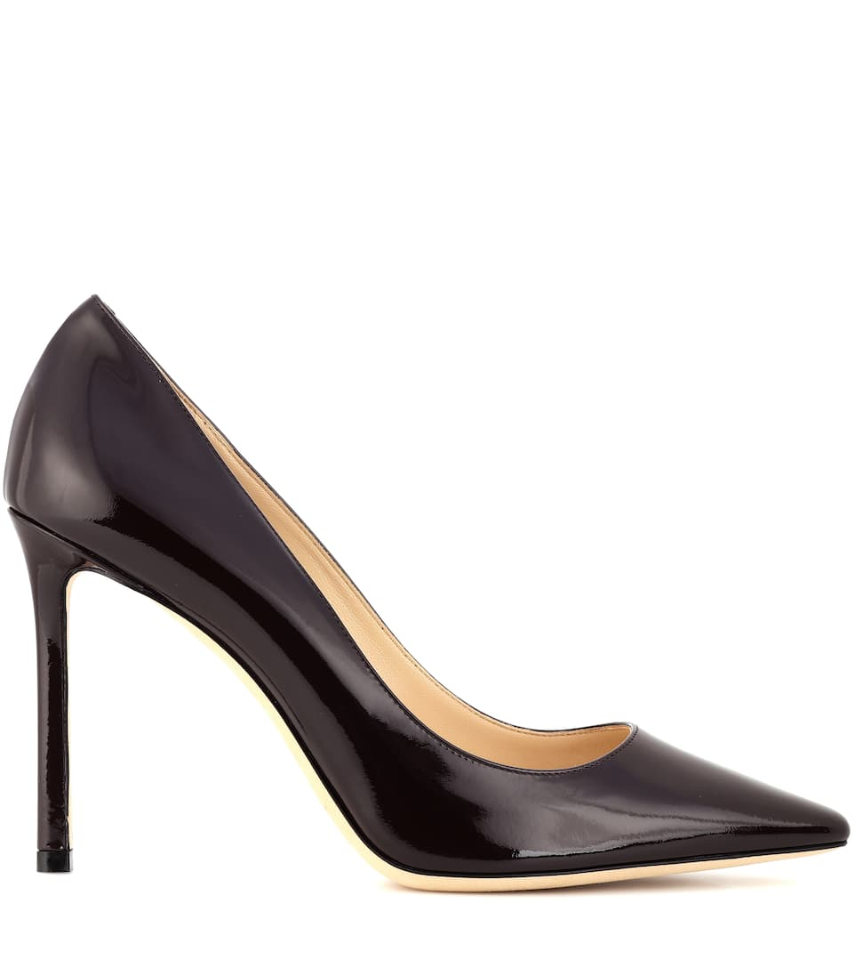 Jimmy Choo Pumps Romy 100 aus Lackleder