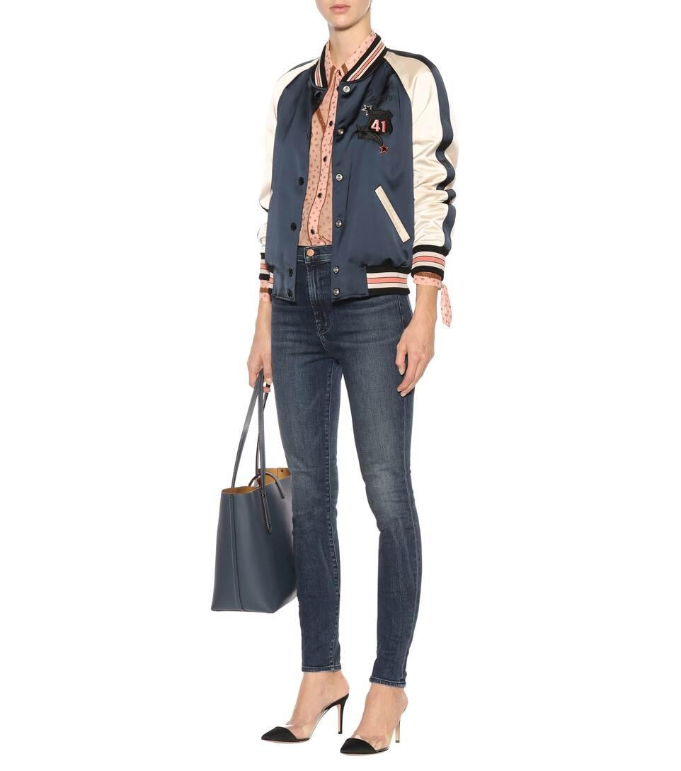 J Brand Super High-Rise Jeans Carolina