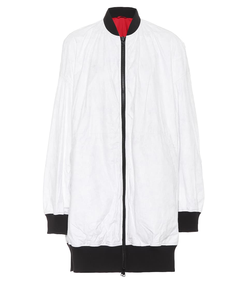 To Contact Y-3 Long Bomber Jacket