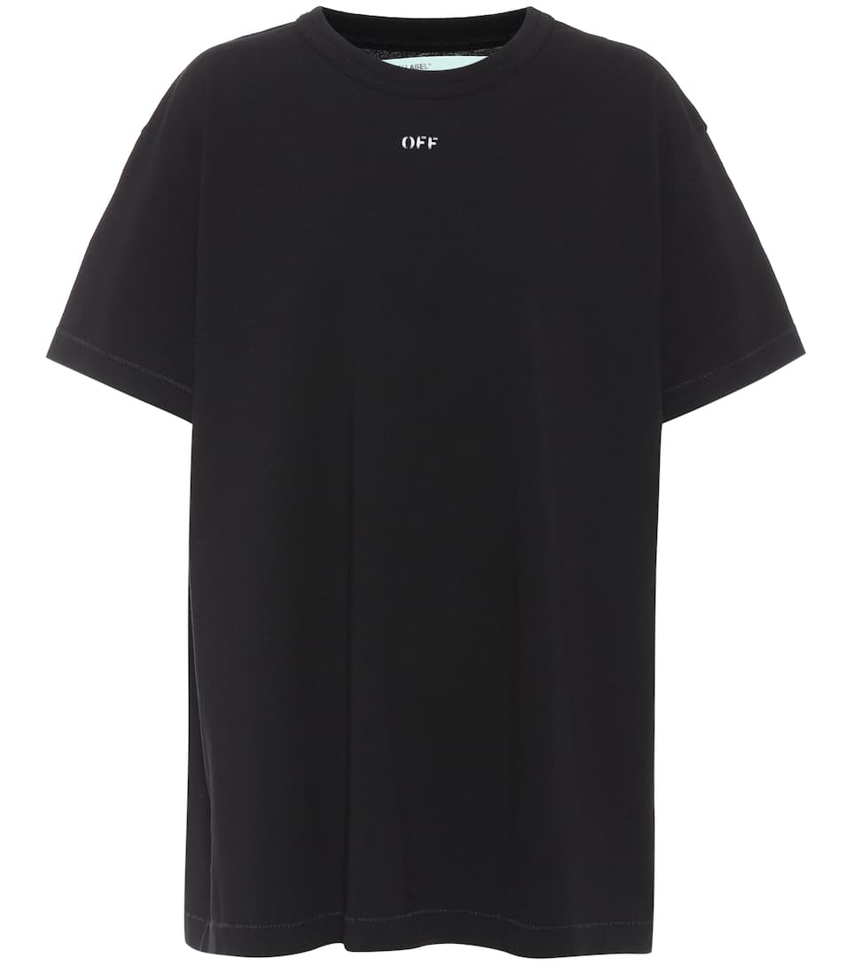 Off-white T-shirt Made Of Cotton
