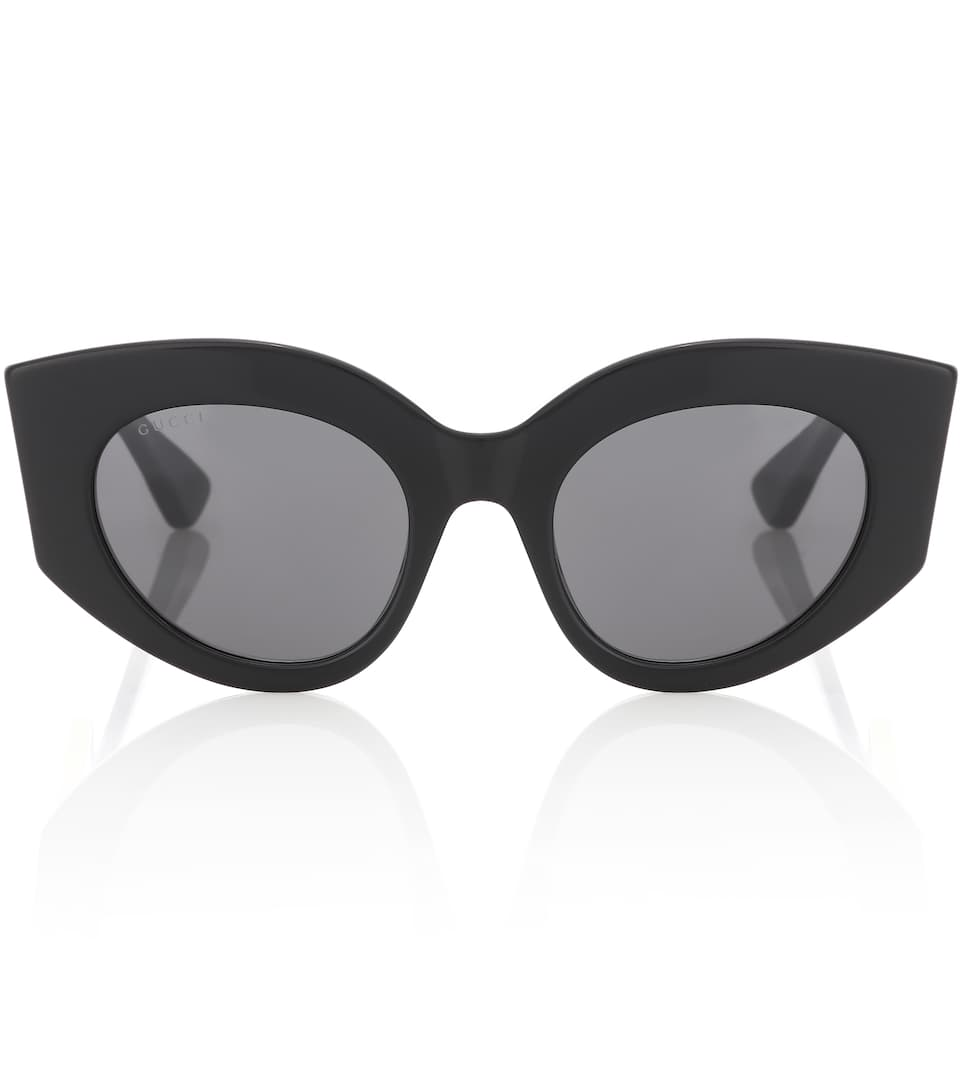 1e32c33018bb9 Oversized Cat-Eye Sunglasses - Gucci