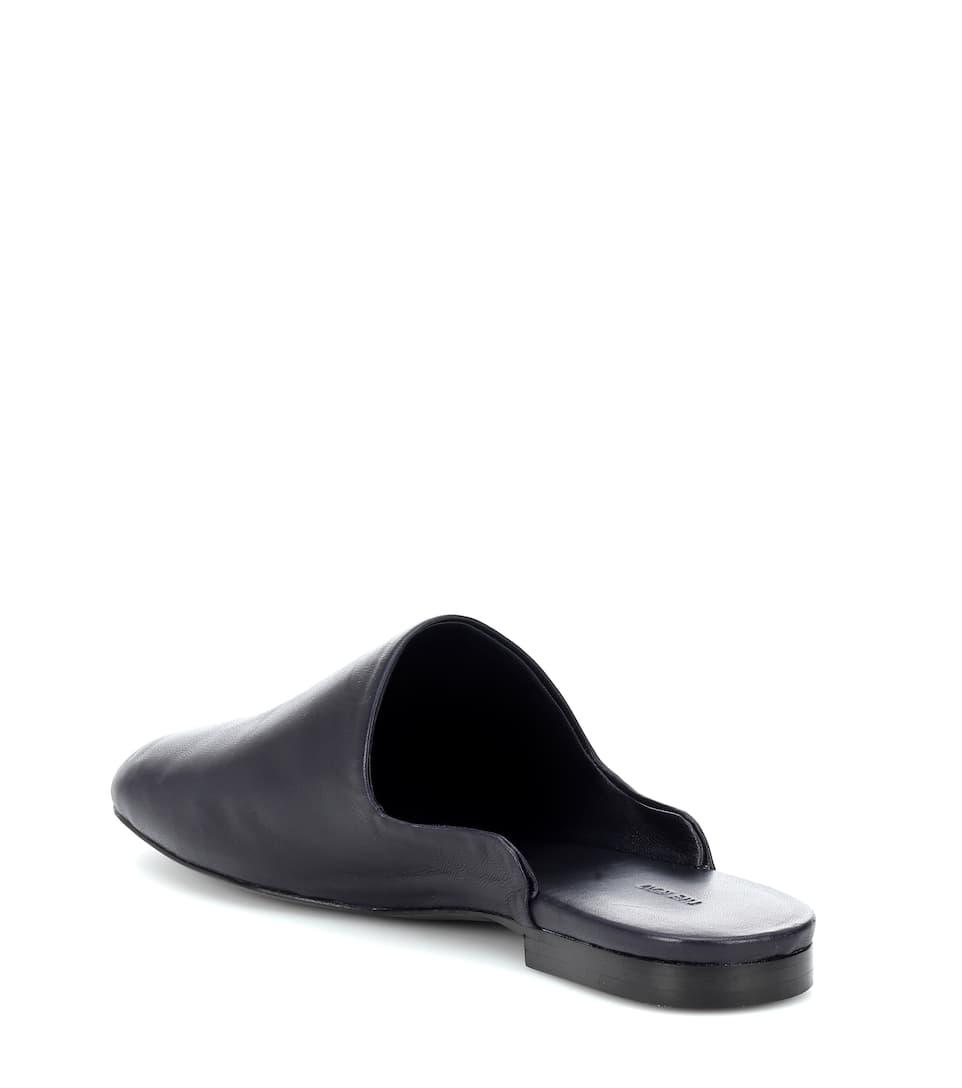 Artnbsp;p00333441 Row Mytheresa Leather N° SlippersThe com Granpa 5Rq3jL4A