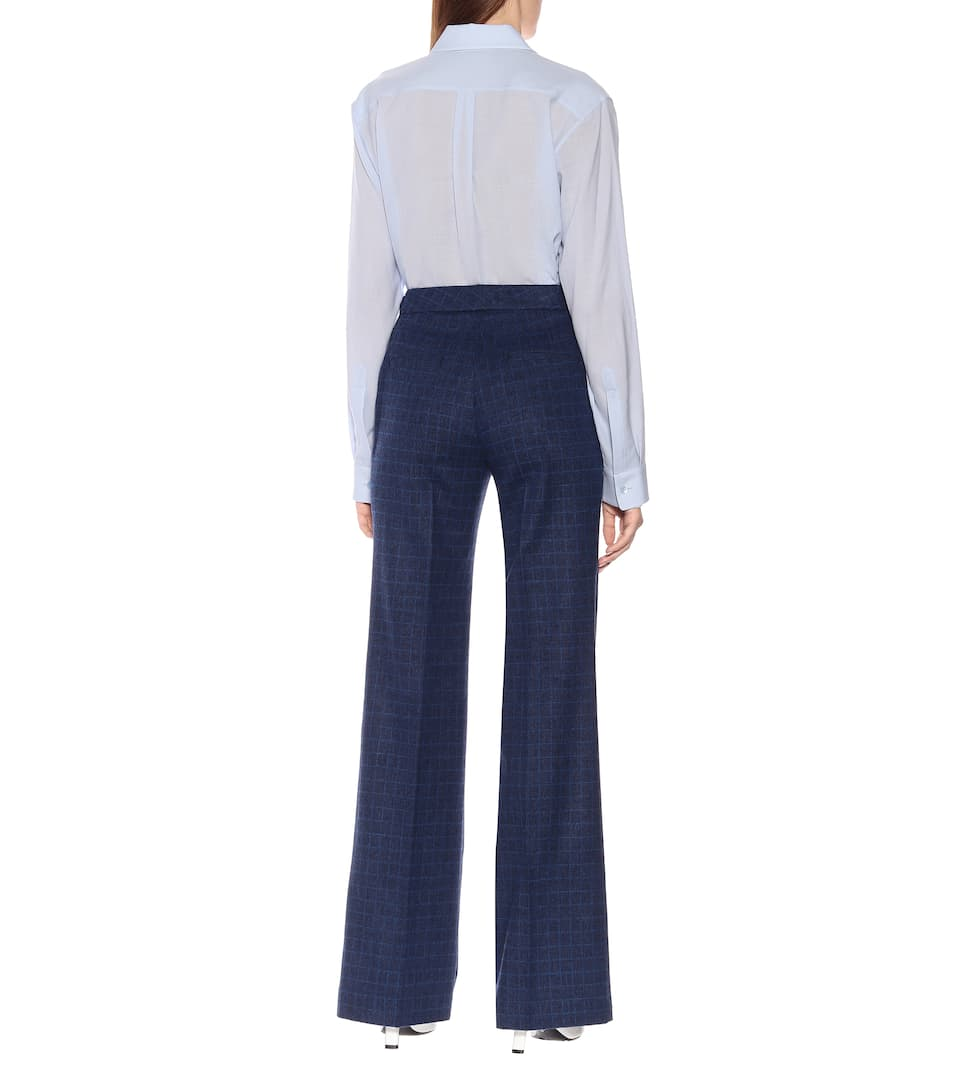 Pantaloni Torres in lana e angora