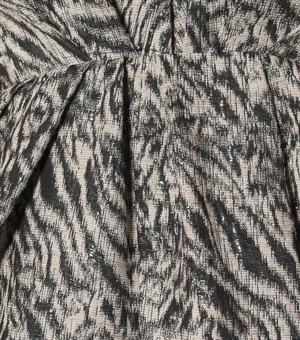 Dorothee Schumacher Robe Wild Shimmer Imprimée En Coton Mélangé