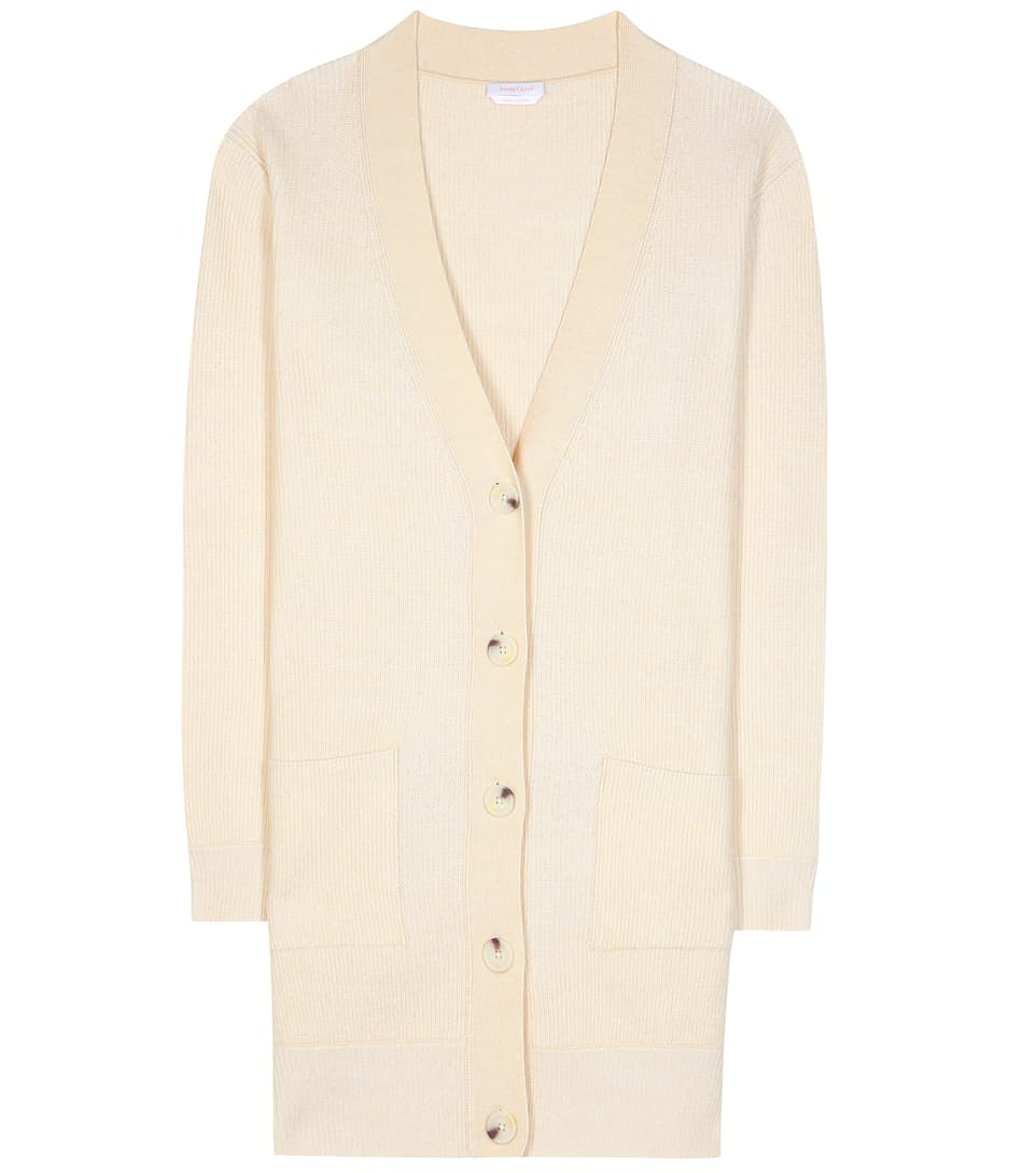 See By Chloé Knitted wool and cotton-blend cardigan