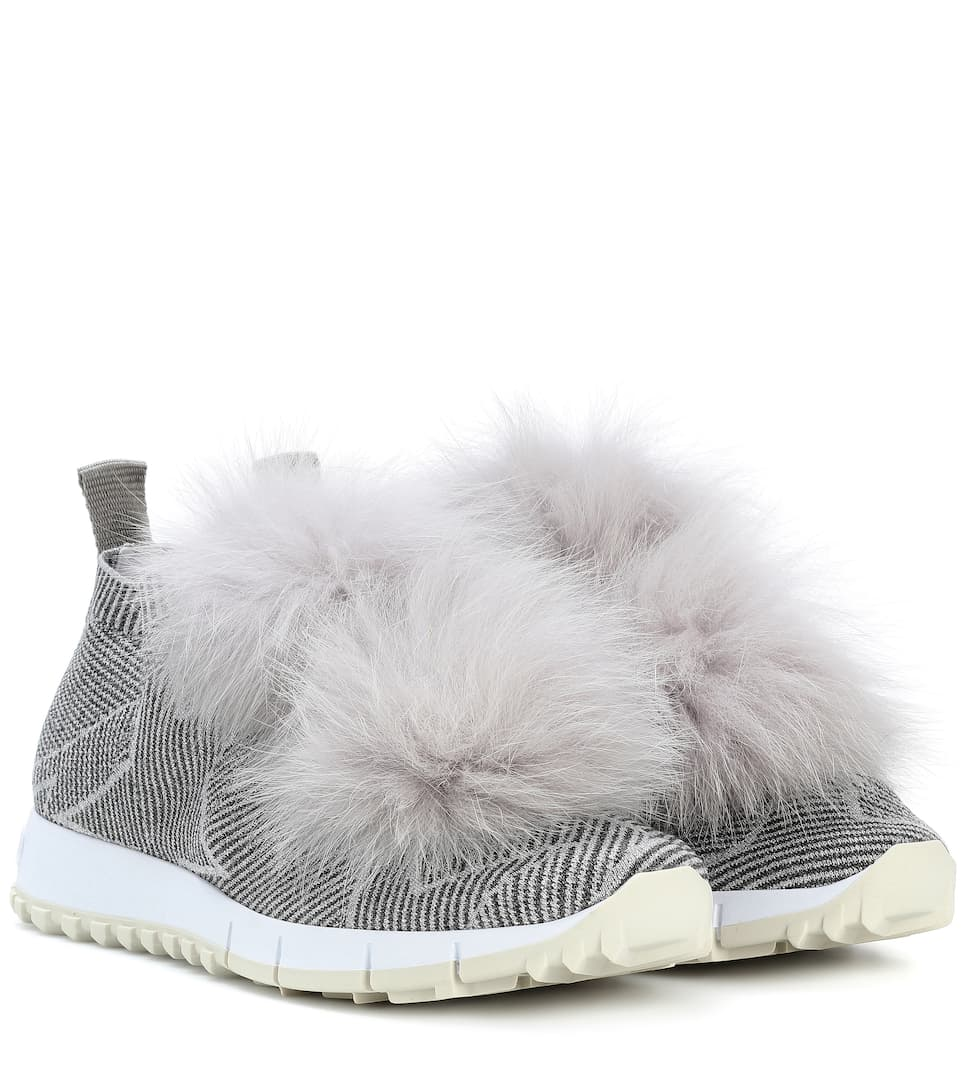 Jimmy Choo Sneakers Norway mit Fell