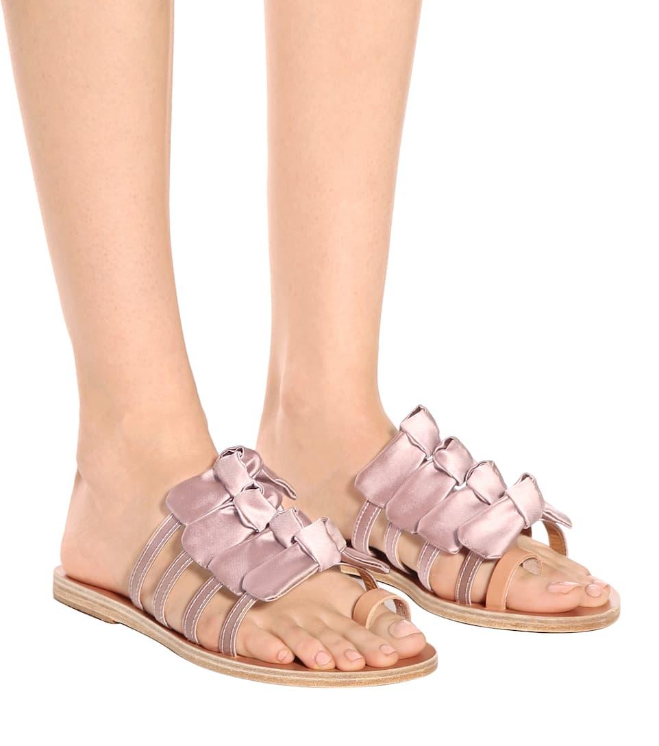 Ancient Greek Sandals Sandalen Hara aus Satin Webseite Zum Verkauf nWaNyrbl