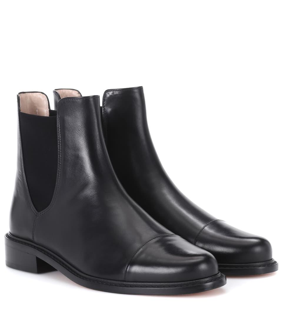Stuart Weitzman Chelsea Boots aus Leder