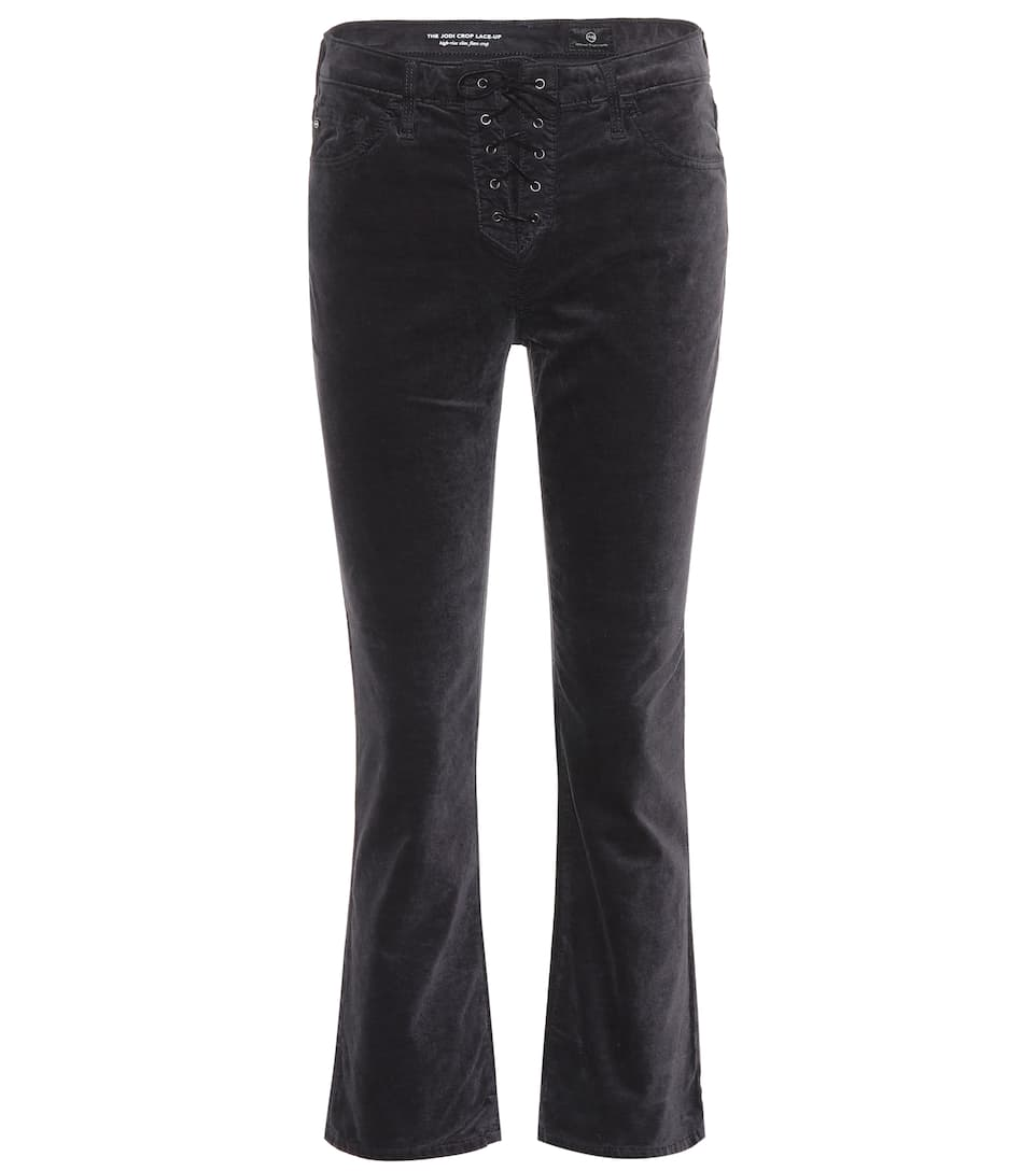 AG Jeans Hose The Cody Crop Lace-Up