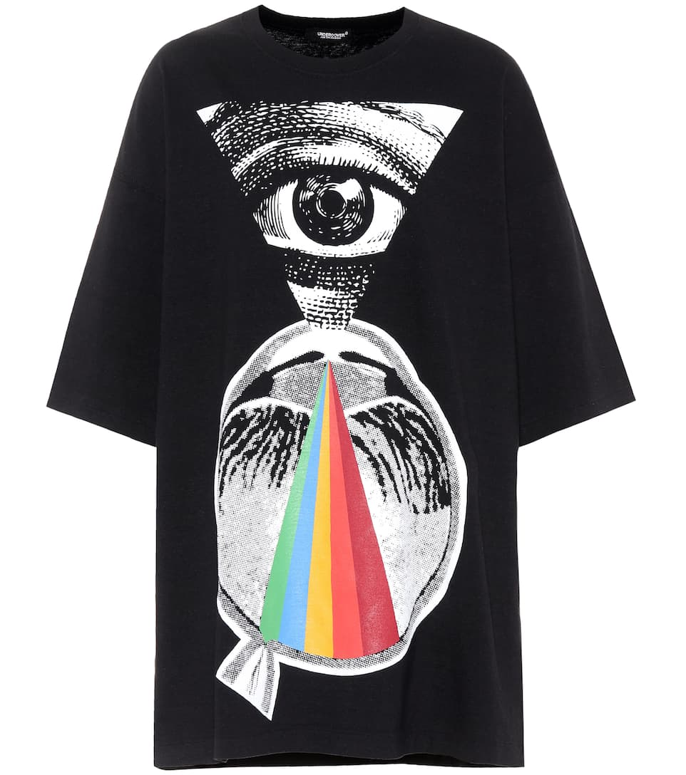 Undercover Oversize T-shirt Made Of Cotton With Print