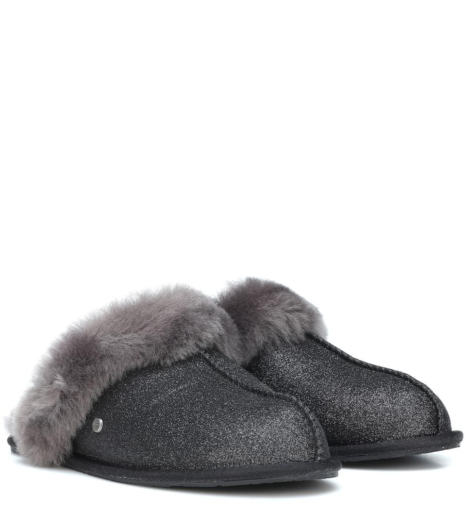 117867dfccc Scuffette Ii Sparkle Wool Slippers - Ugg