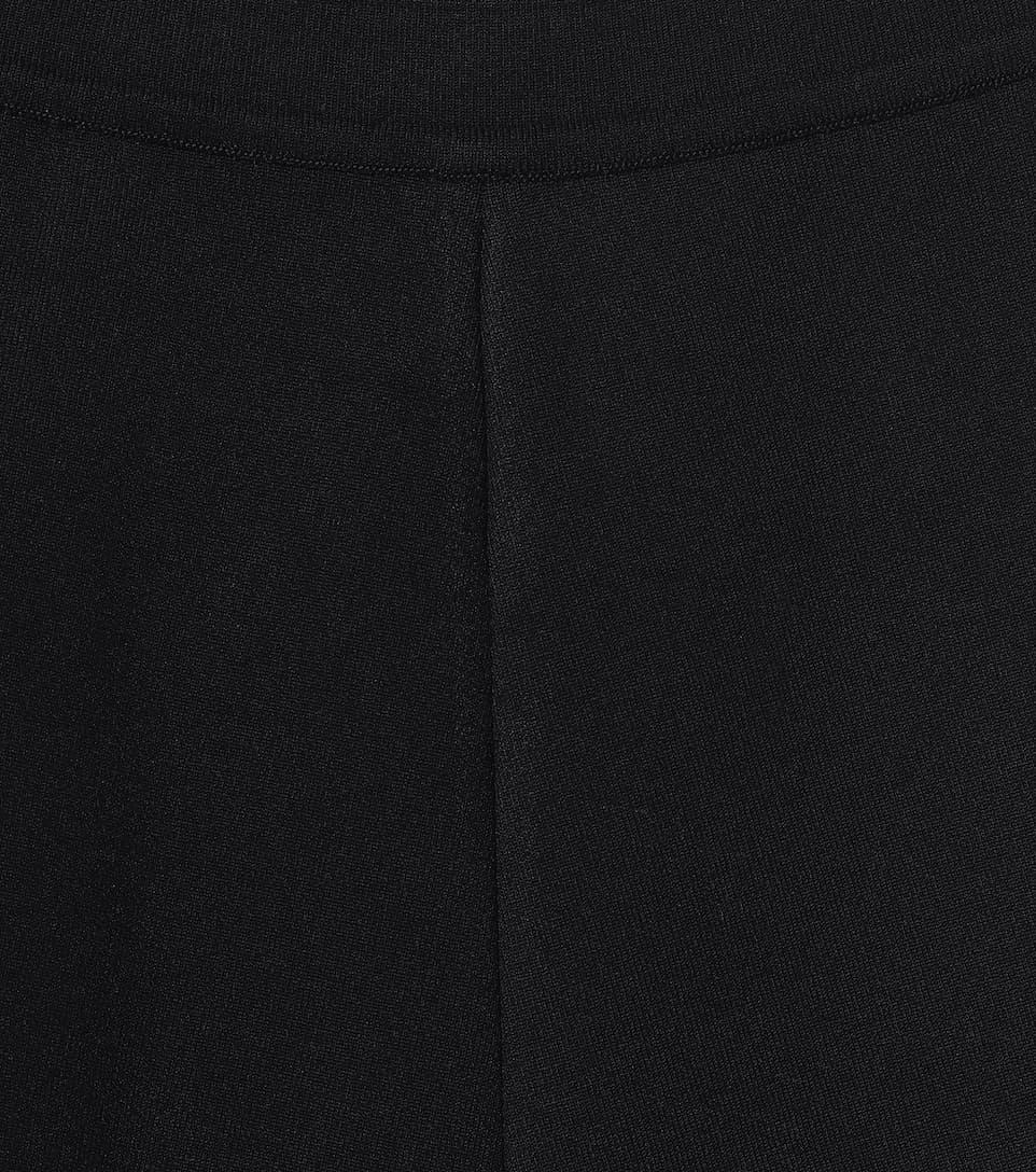 Shorts A Vita Alta In Maglia Stretch - Alaïa