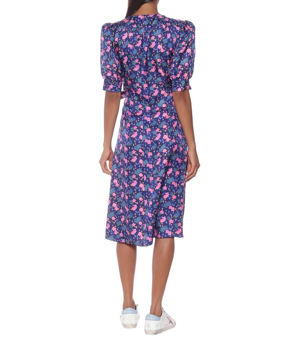 Marc Jacobs - Floral silk wrap dress