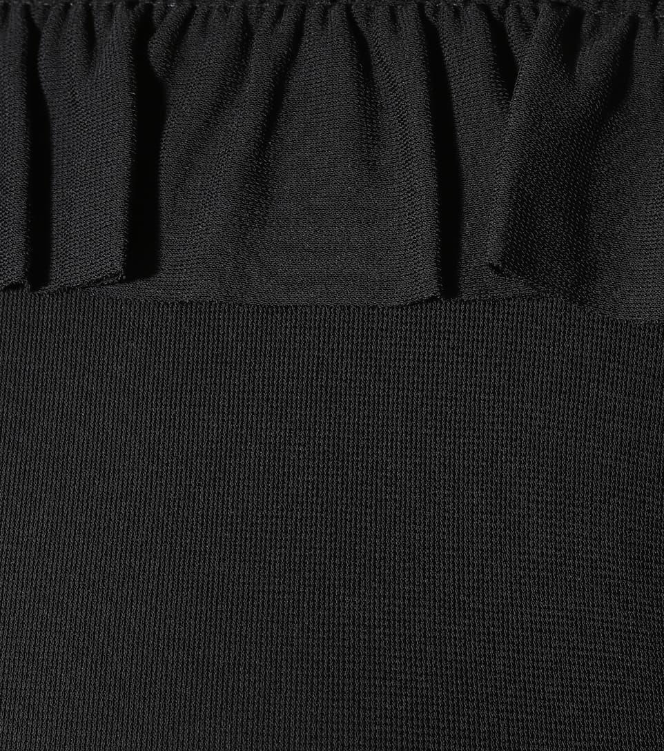 REDValentino Kleid mit Rüschen und Tüll