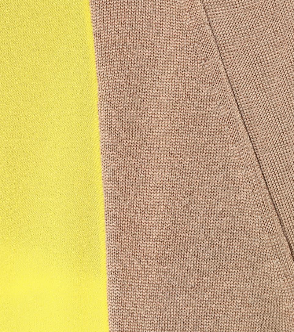 Stella McCartney Asymmetrischer Cardigan aus Wolle