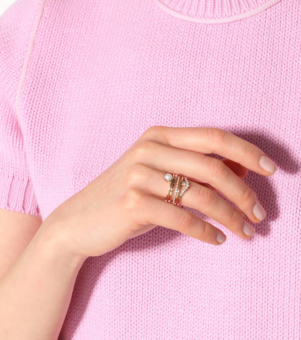 Anna Sheffield - Hazeline 14kt gold ring | Mytheresa