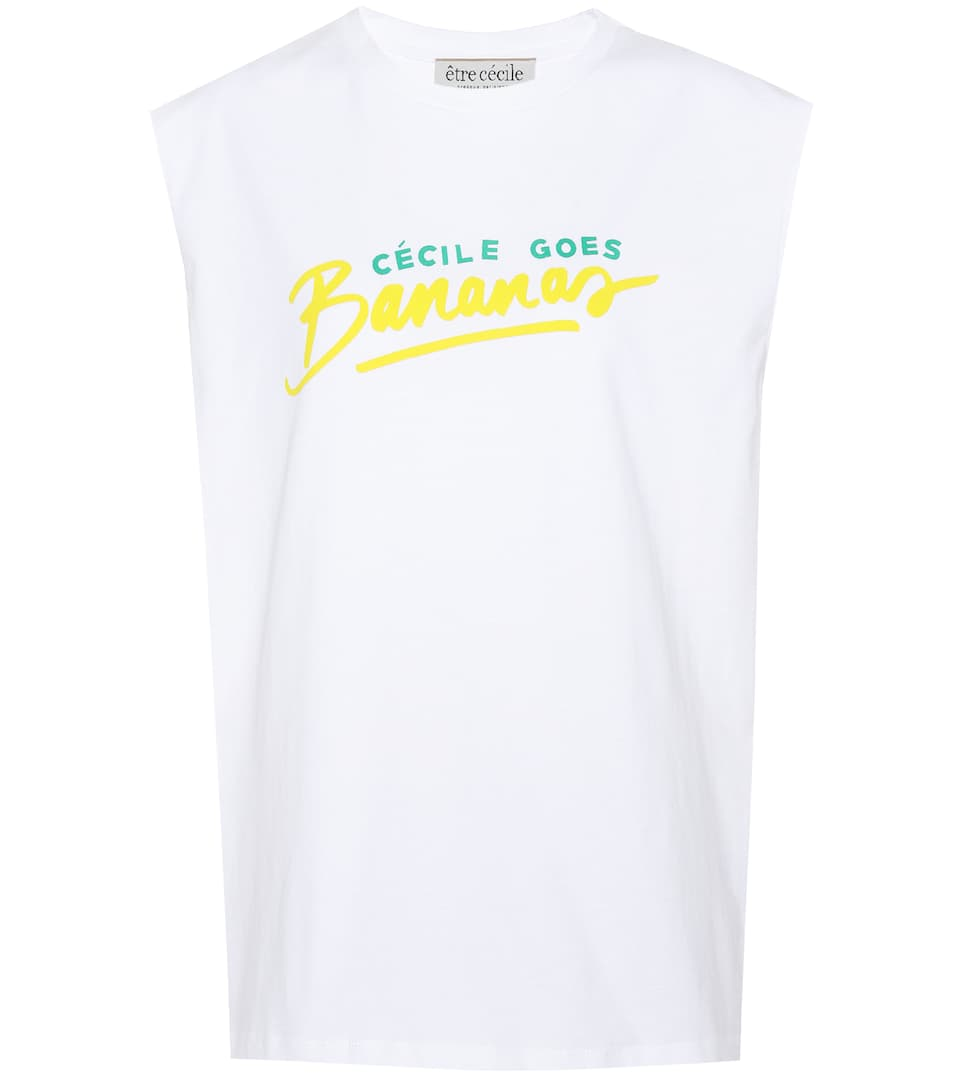 Être Cécile T-Shirt aus Baumwolle
