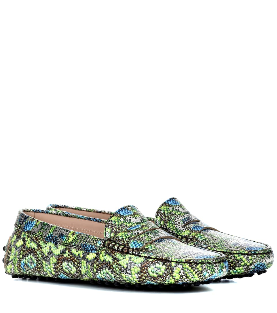 Tod's Exclusive to mytheresa.com – Gommino leather loafers how much outlet fashionable B6fvH4