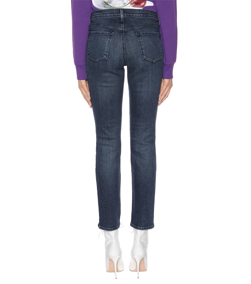 J Brand Mid-Rise Jeans Maude mit Cropped Schnitt