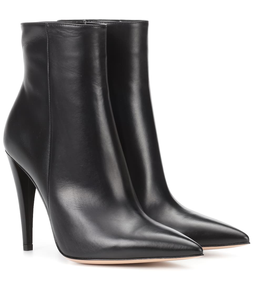 Gianvito Rossi - Bottines en cuir