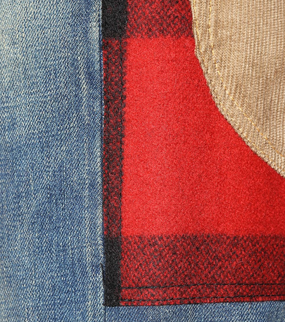 JUNYA WATANABE Clothing PATCHWORK JEANS