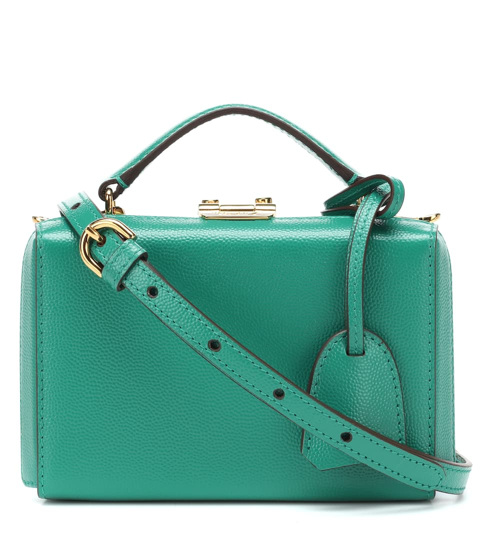 c67dd4b7fab6 Grace Mini Box Leather Shoulder Bag - Mark Cross