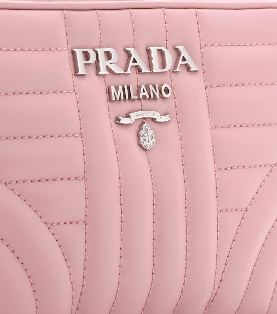 f29d5bacb293 Diagram Matelassé Leather Shoulder Bag - Prada