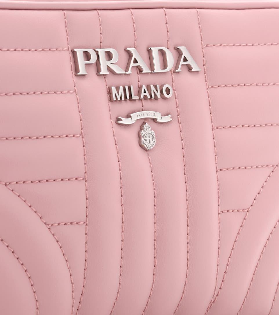 Manchester En Ligne Vente Pas Cher 100% Authentique Prada - Sac cross-body en cuir matelassé Diagramme DikdNYBU