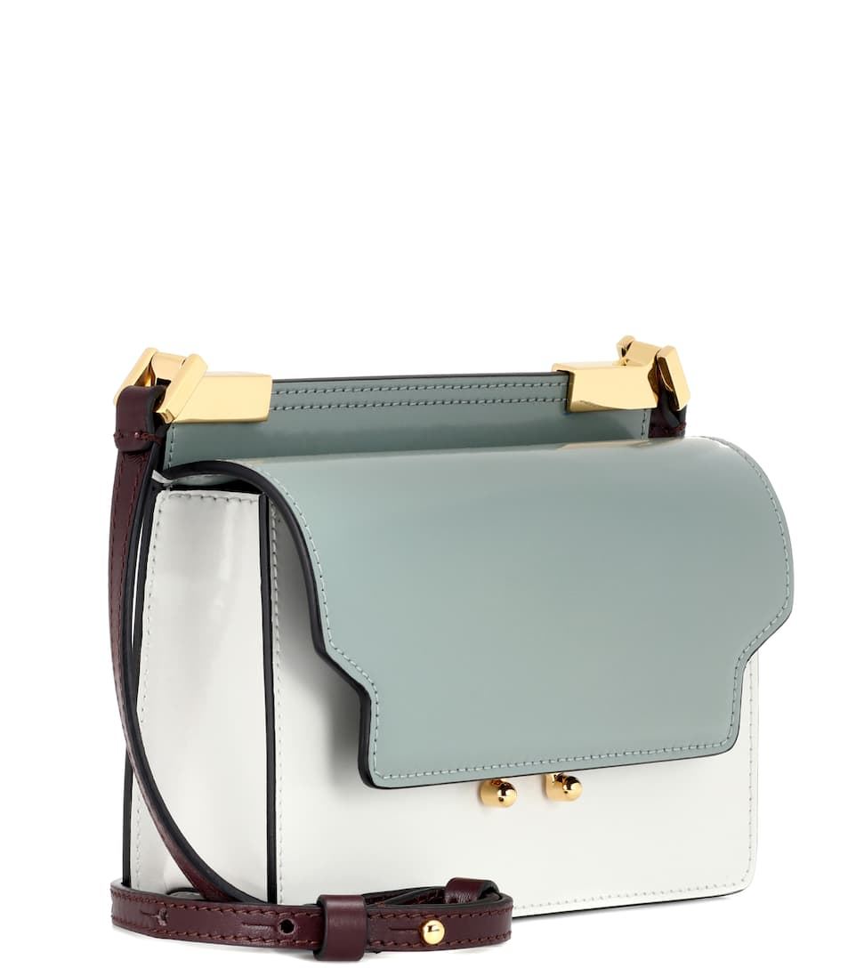 Marni Schultertasche Trunk Of Patent Leather