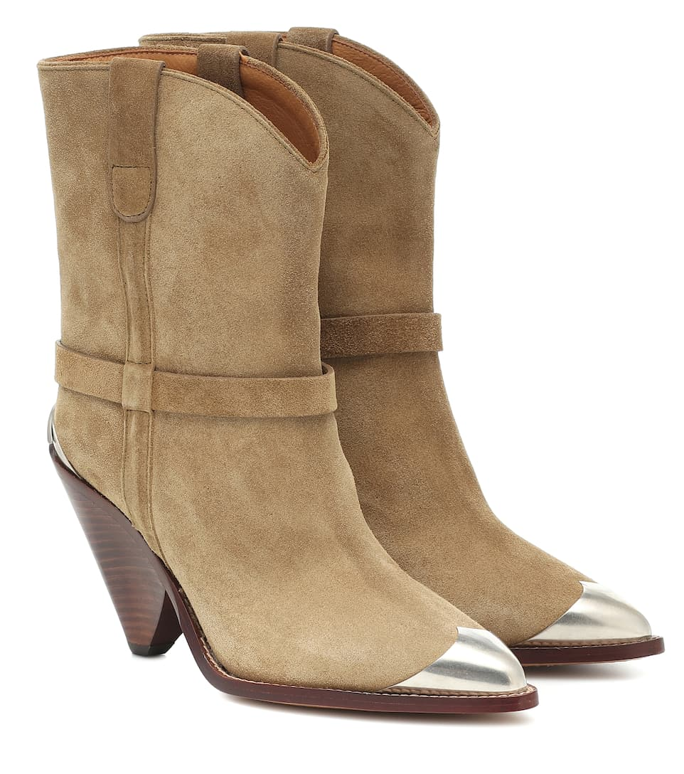 Lamsy Suede Ankle Boots | Isabel Marant