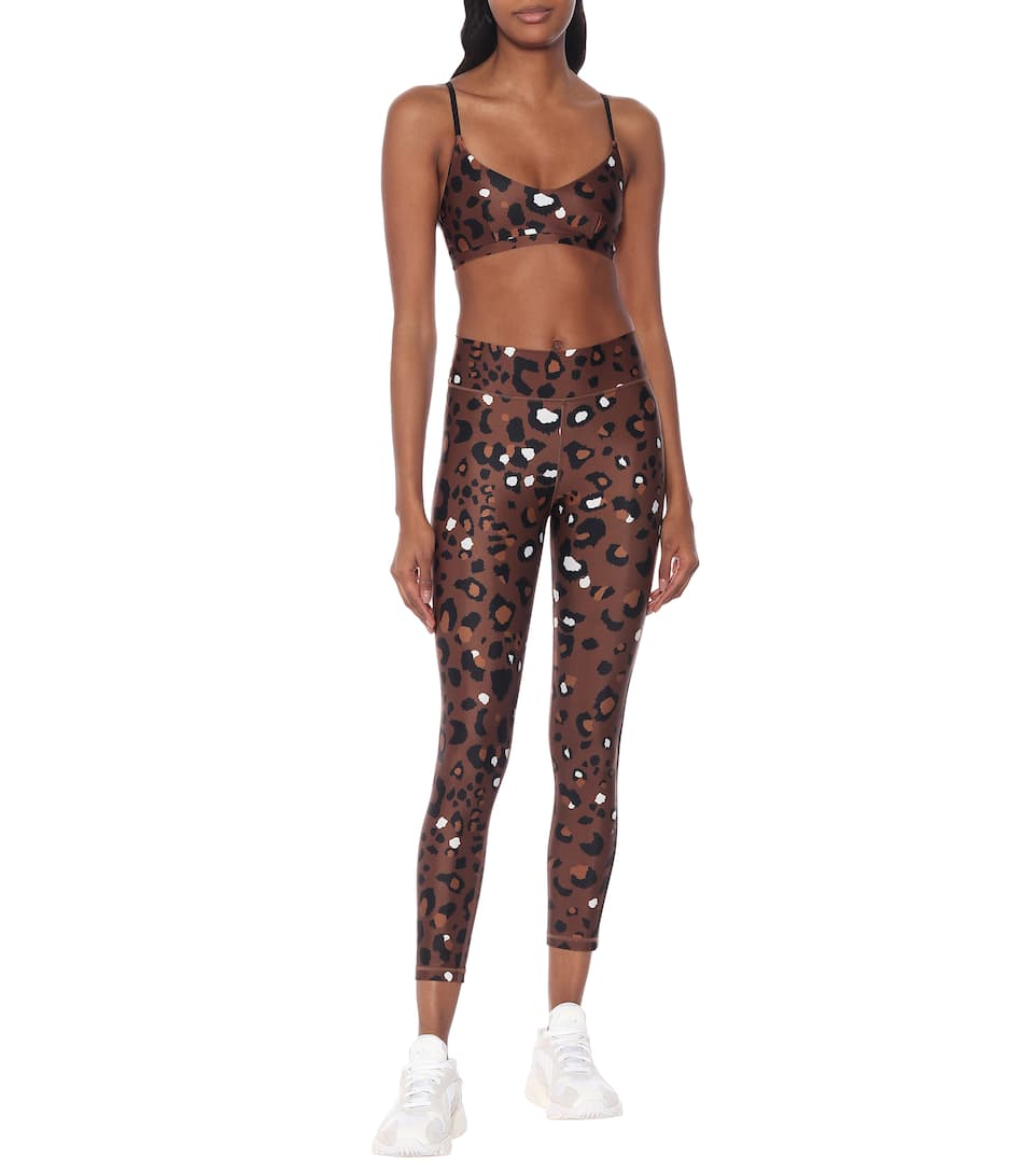The Upside - Ballet leopard-print sports bra