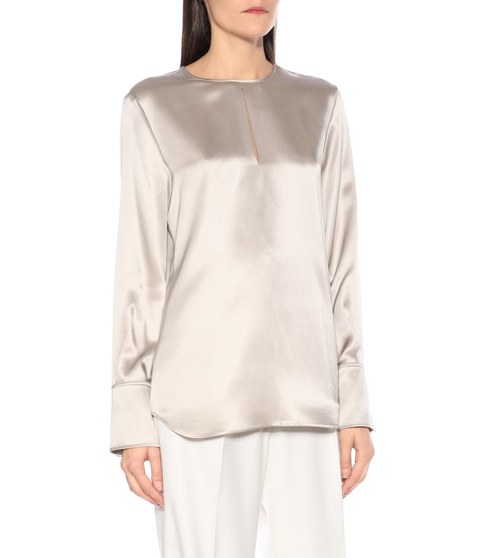 Joseph - Silk-satin blouse