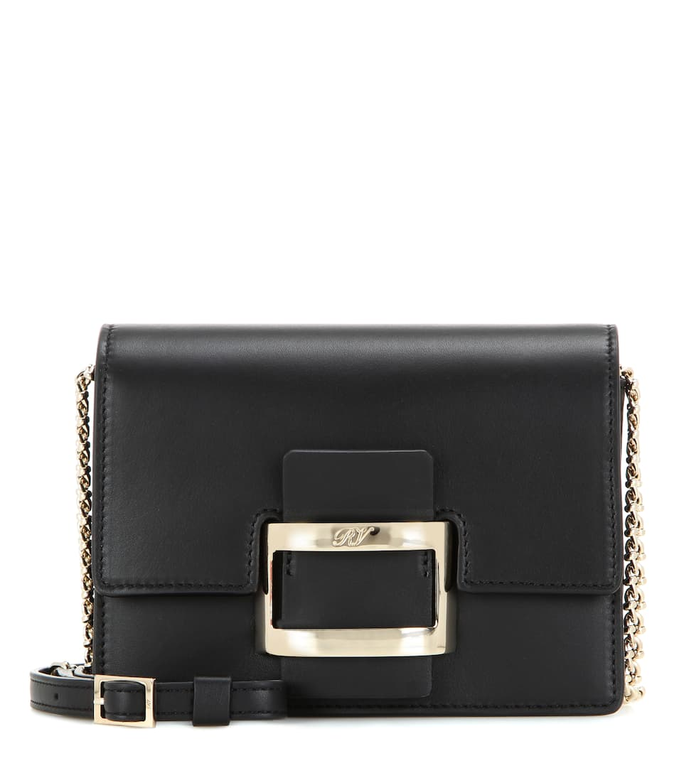 Roger Vivier Viv' Nano leather shoulder bag