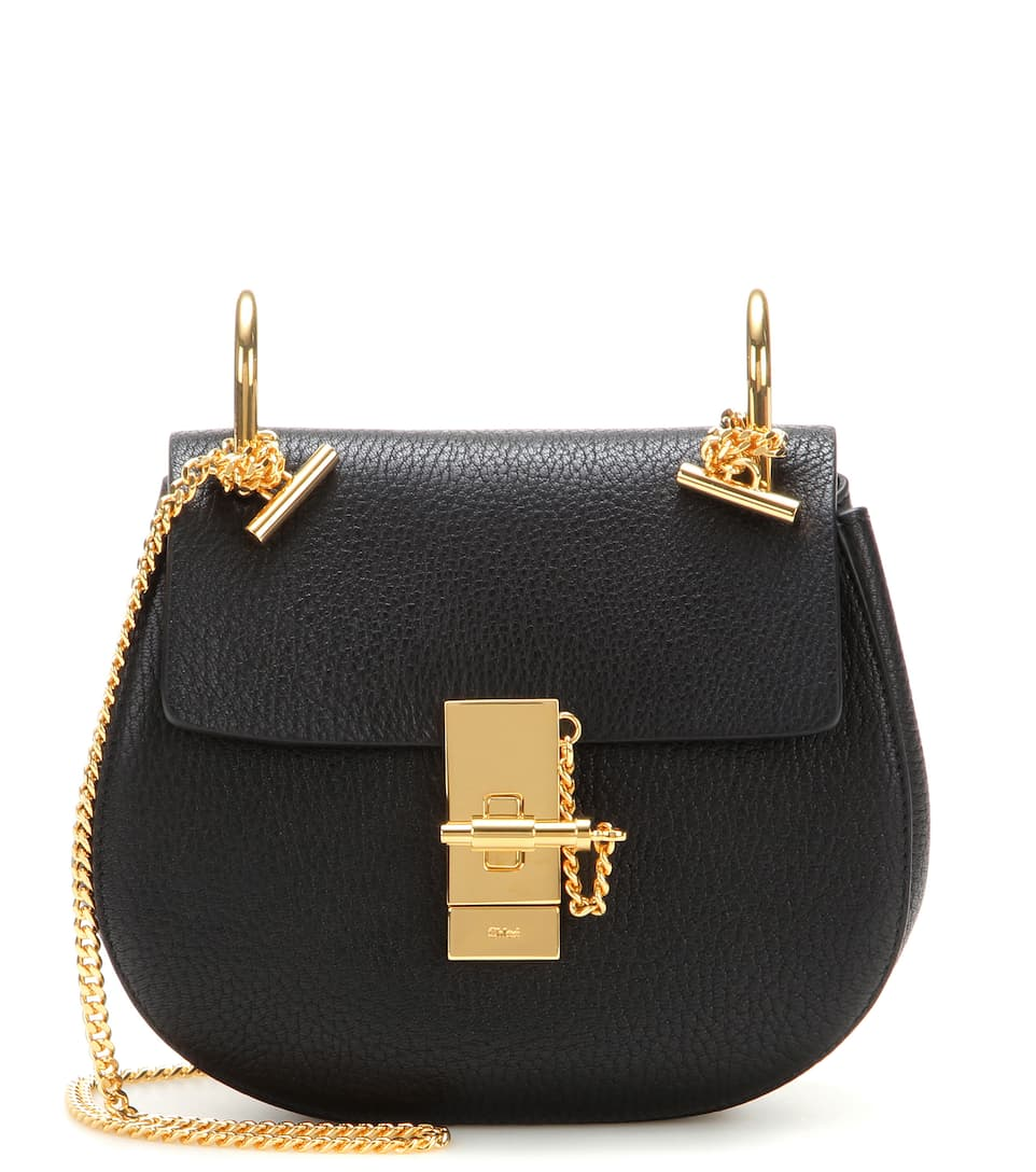 Chloé Shoulder Bag Drew Mini Of Leather