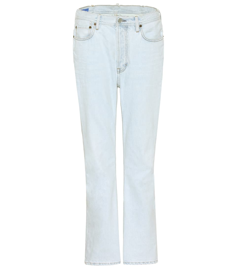 Acne Studios Boyfriend Jeans Log