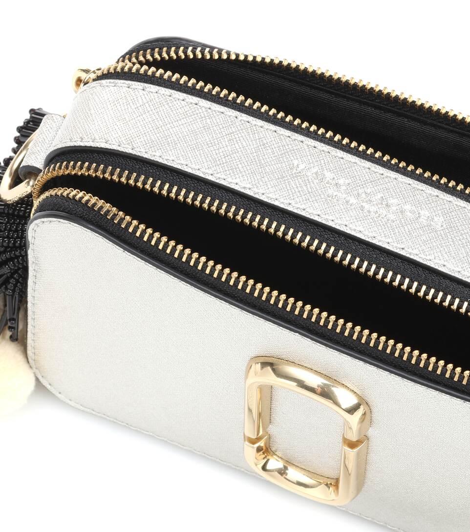 Marc Jacobs Crossbody-Tasche Snapshot aus Leder
