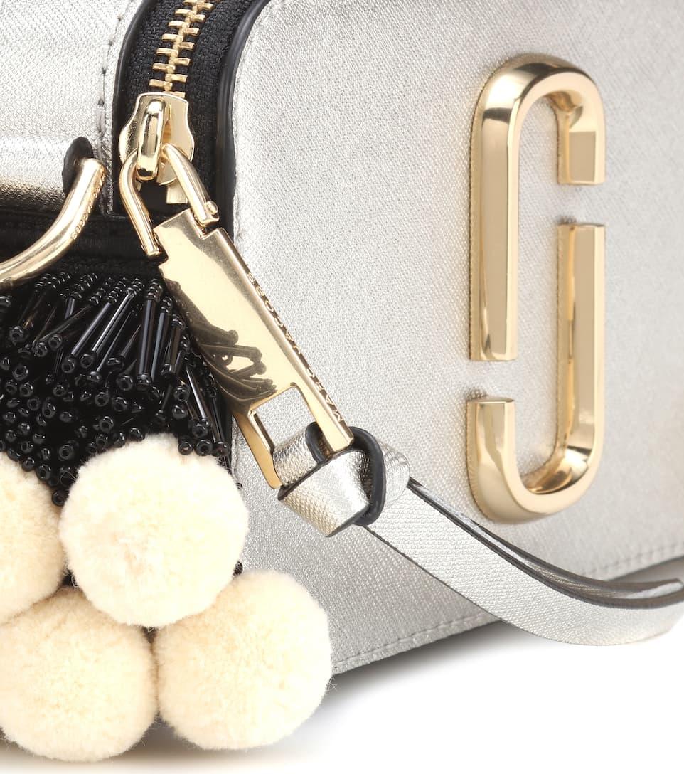 Marc Jacobs Crossbody-Tasche Snapshot aus Leder Günstiger Online-Shop FkdekS
