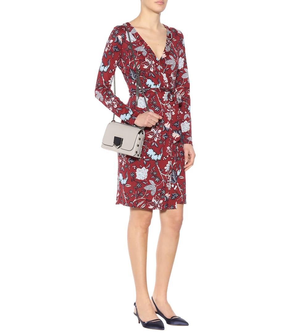 Diane von Furstenberg Bedrucktes Kleid Julian aus Seide