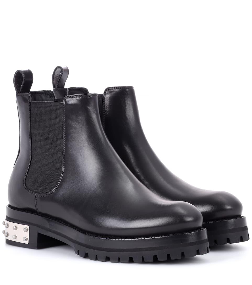 Alexander McQueen Ankle Boots aus Leder Outlet-Store Verkauf Vorbestellung Billig Beste Preise Begrenzt Neue Auslass Extrem jnNVdy3jlB