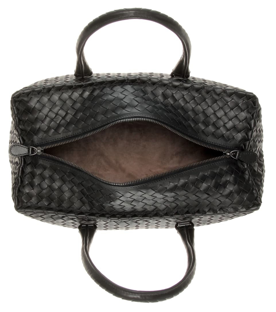 Bottega Veneta Intrecciato-Tasche Brick aus Leder