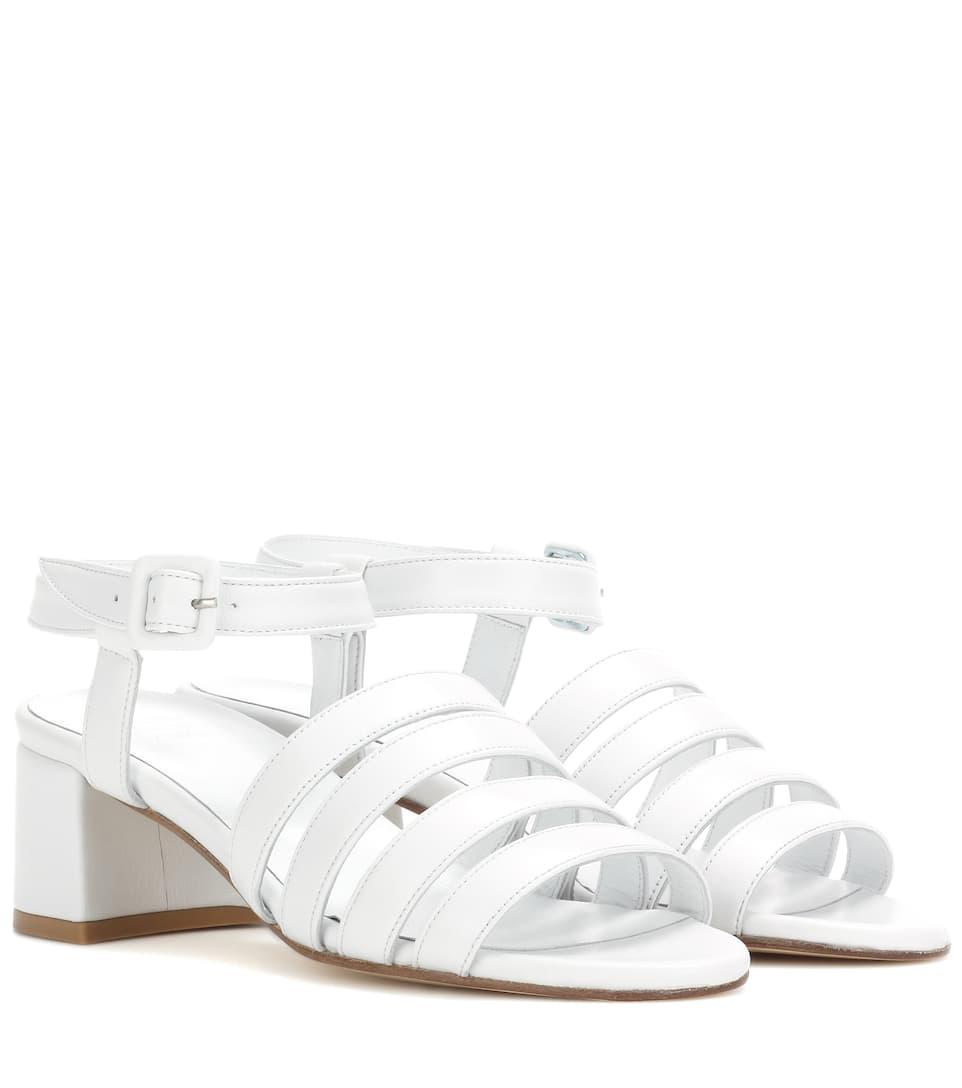 d8627bdb576f Palma Low Leather Sandals - Maryam Nassir Zadeh