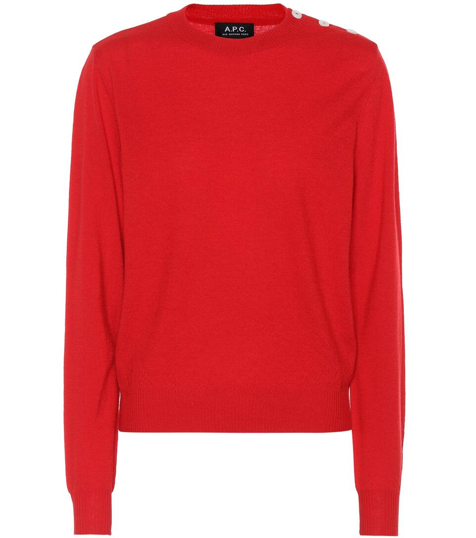 A.P.C. Pullover aus Wolle