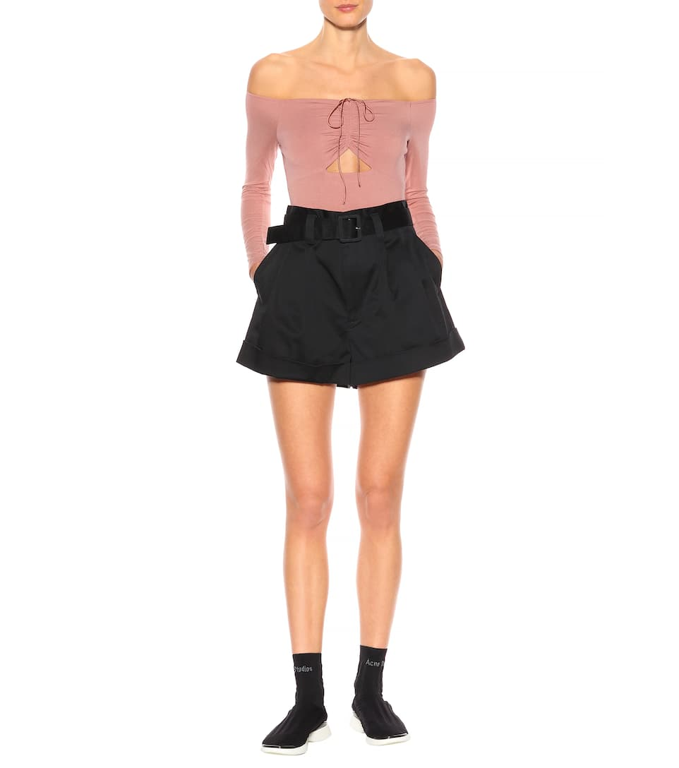 T by Alexander Wang Off-Shoulder-Body