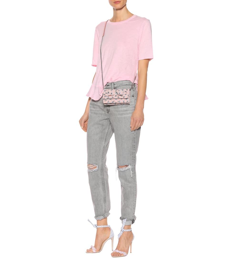 Grlfrnd High Rise Jeans Karolina aus Baumwolle