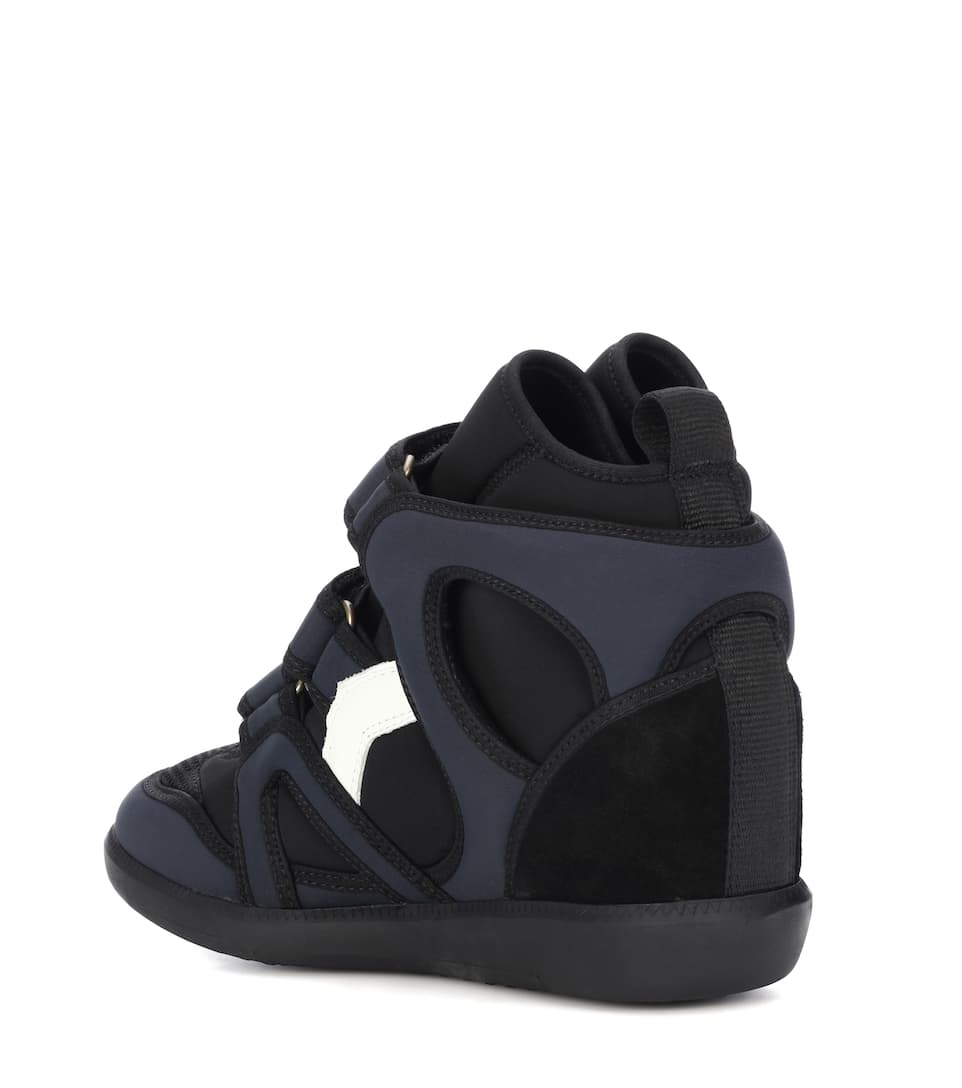 cheap sale sast Isabel Marant Buckee high-top sneakers supply cheap price 2014 cheap online buy cheap browse DXemVLK