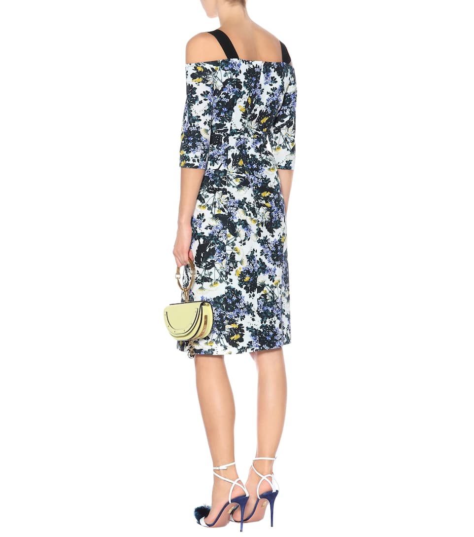 Verena floral-printed dress Erdem ztVr4